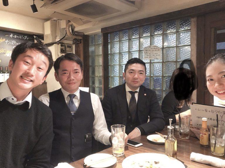 人事部忘年会(^^)